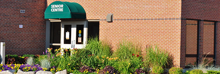 seniors centre entrance
