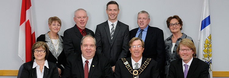 group portrait of council